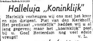 Rotterdamse Kerkbode, oktober 1959